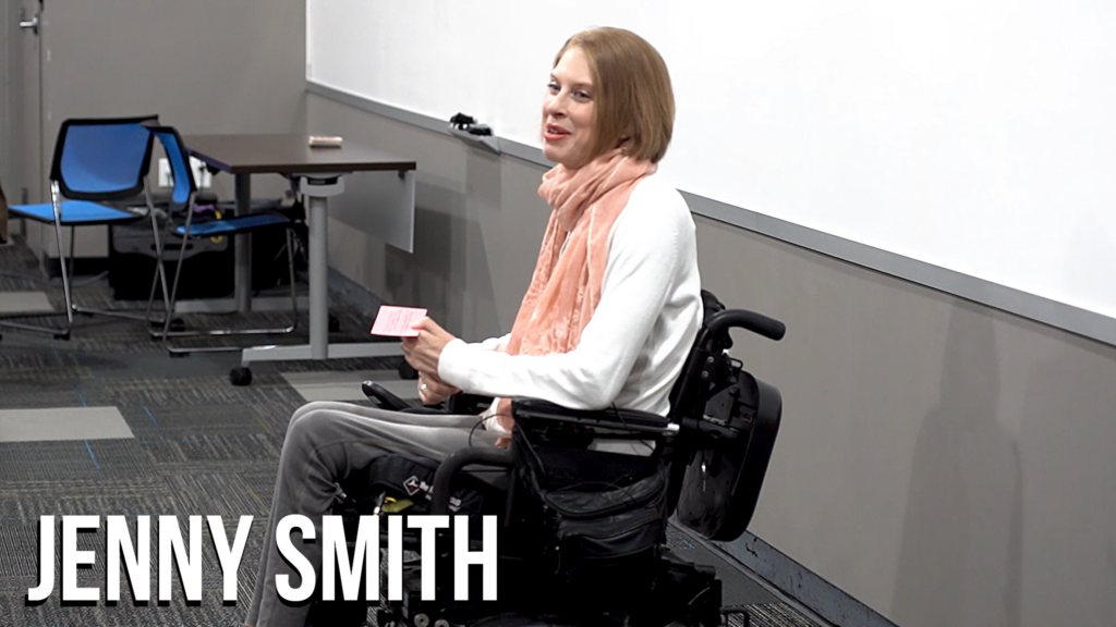 Jenny Smith speaking engagement