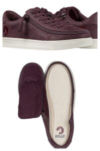 BILLY Footweat Burgundy Low Sneaker